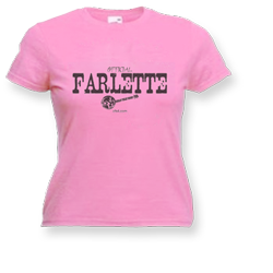 Official Farlette t-shirt